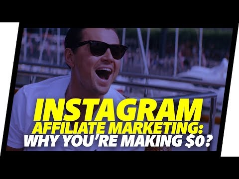 Instagram Affiliate Marketing 2018 TWO TIPS to make your first sale