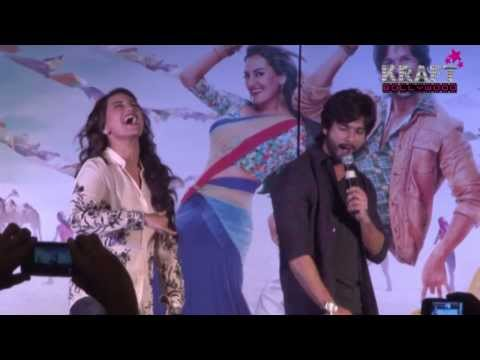 PROMOTION OF MOVIE R   RAJKUMAR AT INFINITI MALL MALAD