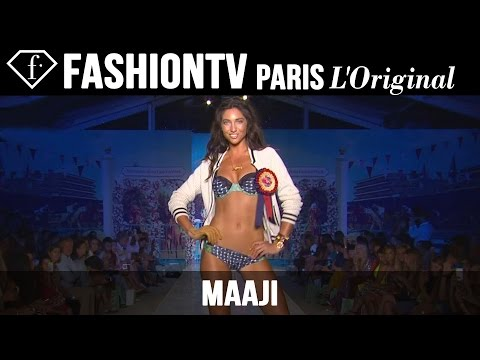 Maaji Swimwear Show | Miami Swim Fashion Week Summer 2015 | Bikini Models | Fashiontv video