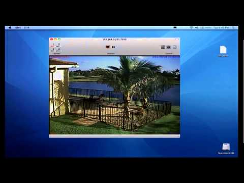 Mac DVR Viewer Software for CCTV Security Cameras