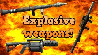 GTA online guides - Rocket and grenade launchers