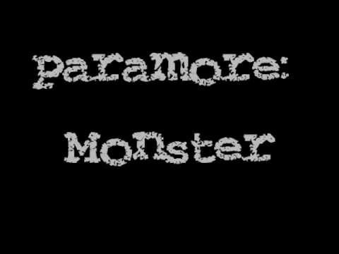 Paramore - Monster (lyric Video) video