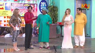 Iftikhar Thakur and Afreen Khan with Sobia Khan | Stage Drama Pyaar 50 Fifty | Full Comedy Clip 2019