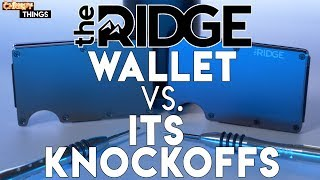 The Ridge Wallet vs. Knockoffs! Are they really just as good?