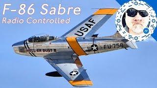 F-86 Sabre - EDF RC Jet - E-Flite  @ Croydon Airport Model Flying Club