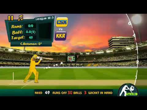 IPL 2018 - CSK VS KKR IPL 2018 Full Highlights | Gaming Highlights