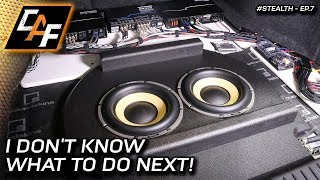 "Overcoming ""Builders Block"" - Keep building car audio when you don't know what's next!"