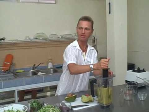 How to Make Energy Soup with Kaelash Neels at the Ann Wigmore Institute in Puerto Rico