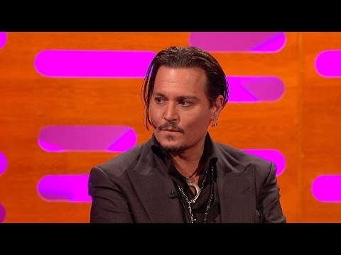 Johnny Depp on visiting hospitals as Jack Sparrow – The Graham Norton Show: Episode 9 – BBC One