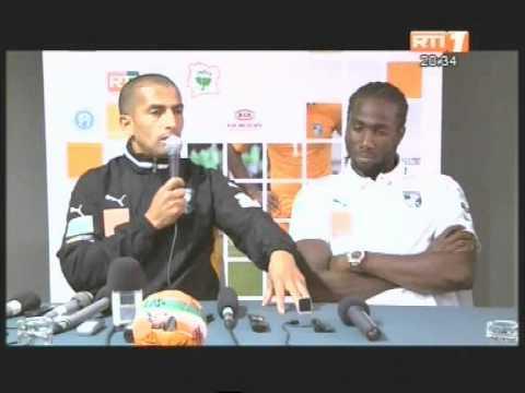Football/CAN 2013: Sabri Lamouchi, selectionneur des eléphants fait le point sur son groupe