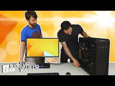 Level Up Your Rig Ep1 | PC Makeover with MathasGames ft. Samsung NVMe SSD 970 EVO