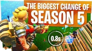 The Biggest Change of Season 5 - Fortnite Shotgun Nerf