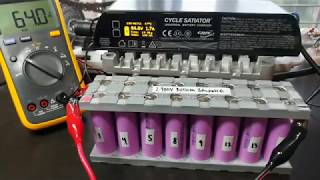 21700 Lithium Battery Pack Part 3 - Charging Test