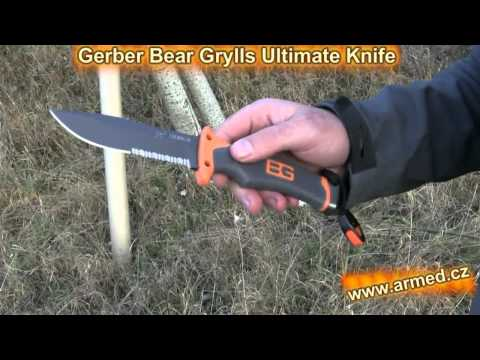 Test Gerber Bear Grylls Ultimate Knife