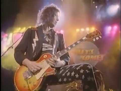 Ace Frehley unreleased FALLEN ANGEL Frehleys Comet original videos