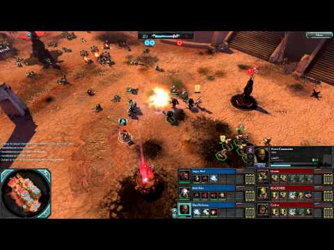 Dawn of War 2: Retribution — 3v3 | Faction War — Space Marines [vs] Orks | 4