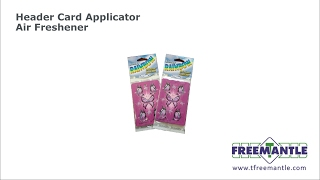 T Freemantle Ltd - Header Card Machine Air Freshener