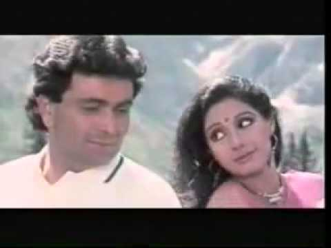 Tere Mere Hoton Pe...full song (Film Chandani)
