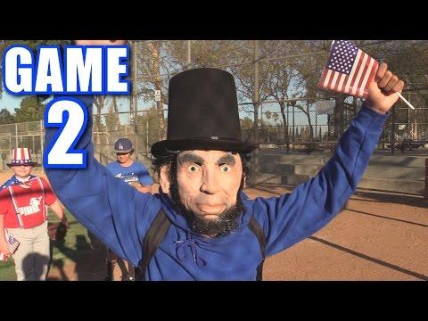 ELECTION DAY SPECIAL! | Offseason Softball League | Game 2
