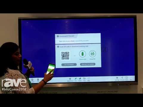 InfoComm 2016: DisplayTen Demos Workplace Hangout Solution