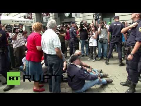 Spain: Republican protesters demand end to royal rule