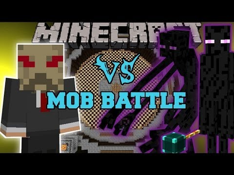MUTANT ENDERMAN & ENDER LORD VS SCARECROW - Minecraft Mod Battle - Mob Battles - Super Villains Mods