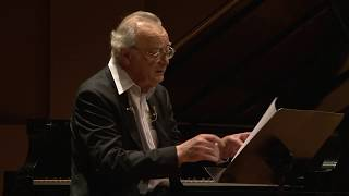 2011 Beatty Memorial Lecture Alfred Brendel