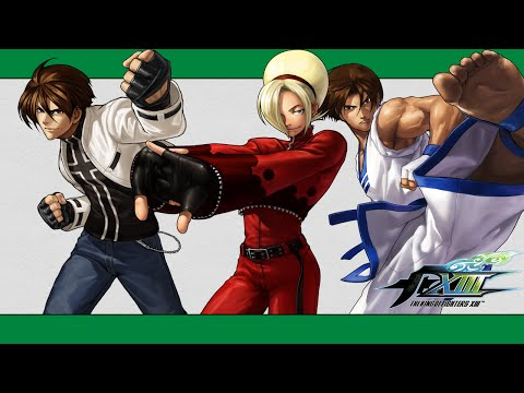 KoF XIII: 100% combo video (Ash, EX Kyo, Kim