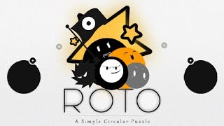 ROTO: A Simple Circular Puzzle iOS / Android GamePlay Trailer HD