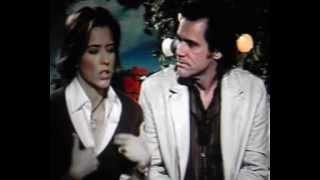 Jim Carrey & Tea Leoni Kissing Backstage