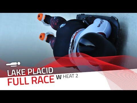 Lake Placid | BMW IBSF World Cup 2016/2017 - Women's Skeleton Heat 2 | IBSF Official