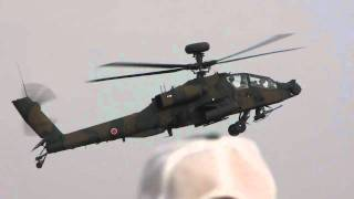 AH-64展示飛行(築城基地航空祭2010)