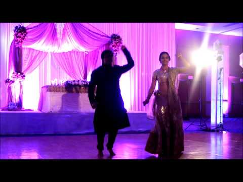 Sonia and Yogesh Reception Dance