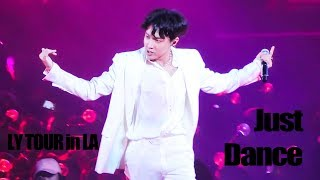 180905 Love Yourself World Tour in LA | Just Dance 4K | 제이홉 직켐 J-Hope Focus
