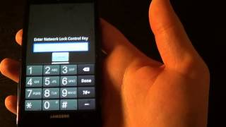 How to unlock Samsung Galaxy Infuse AT&T T-Mobile network unlock code