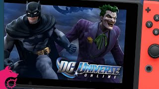 DC Universe Online for Nintendo Switch: My first (and last) MMO