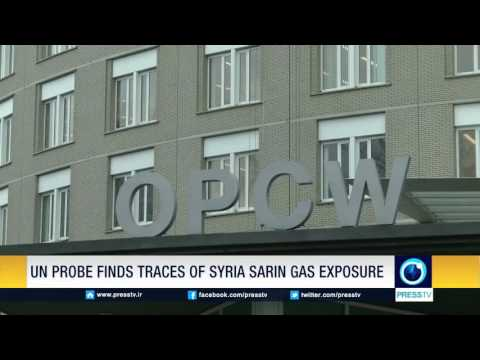 UN Probe Finds Traces Of Syria Sarin Gas Exposure