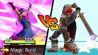 Super Smash Bros. Ultimate - Who is Stronger than Hero's Magic Burst?