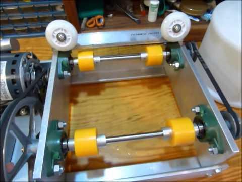 DIY Brass tumbler for tumbling clean brass cartridge cases before reloading.
