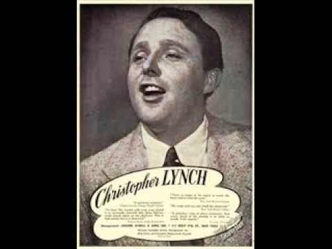 Irish Tenor Christopher Lynch Sings