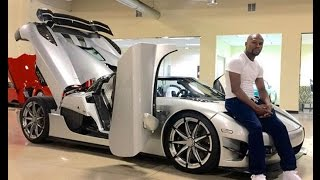 WWE superstar car collection