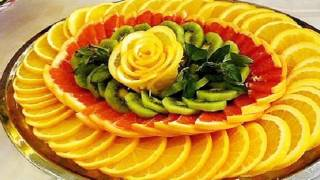 Украшаем блюда фруктами: удивляем гостей и радуем детей!