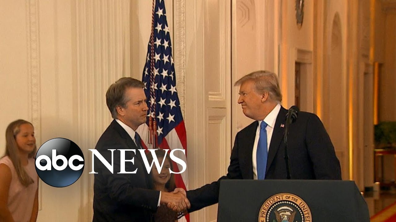 President Trump announces Brett Kavanaugh as Supreme Court pick