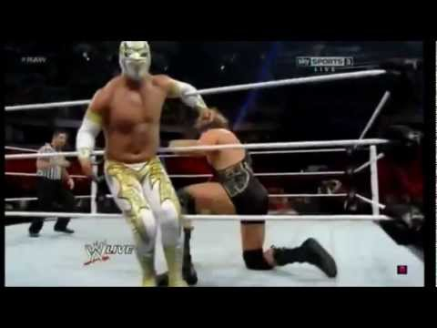 Sin Cara Vs Jack Swagger video