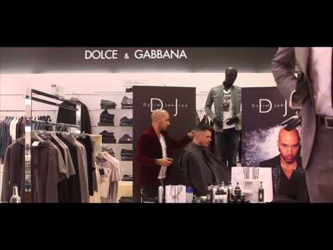 Celebrity Hair Stylist Daniel Johnson at Harvey Nichols Birmingham