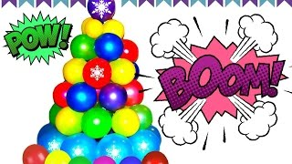 """The Balloons Popping Show"" for LEARNING COLORS! Educational Video for Kids #1"