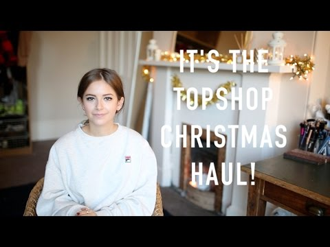 Holiday Topshop Haul | sunbeamsjess