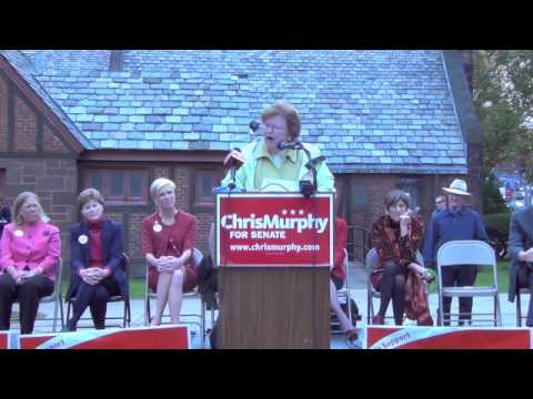 Maryland Senator Barbara Mikulski gets Team Murphy fired up!