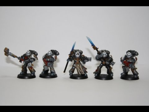 Warhammer 40k Painting Tutorial - How to Paint a Grey Knight Purifier Squad