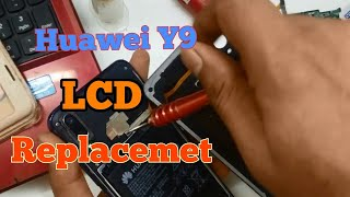 Huawei Y9 2019 LCD Screen Replacement ....